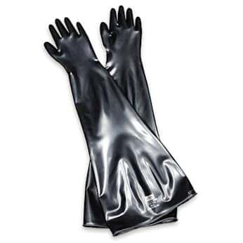 North by Honeywell 8Y1532/9Q Hypalon drybox gloves, 15 mil, size 9-3/4, 1  pair