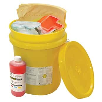 Nps Spilfyter Grab Go Base Bucket Spill Kit Liquid Formula
