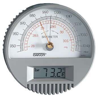 Oakton Wd-03316-80:Barometer W Digital Thermometer from ...