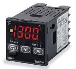 Omron E5CSVR1TF E5CSV-R1TF-AC100-240 Temp Controller Relay, 100/240 on