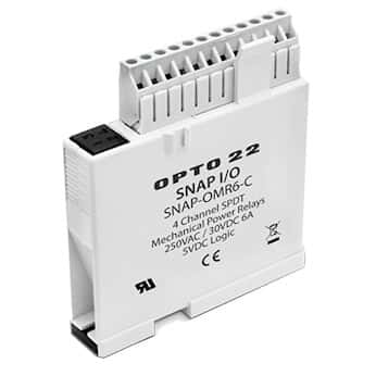 opto 22 snap pac eb1 4 ch isolated mechanical power relay. Black Bedroom Furniture Sets. Home Design Ideas