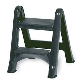 Rubbermaid 4209 03 Folding Step Stool Two Step 300 Lbs