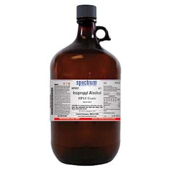 Spectrum Chemical Isopropyl Alcohol, HPLC Grade