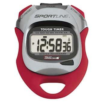 sportline wv4413re 480 tough timer digital stopwatch clock with