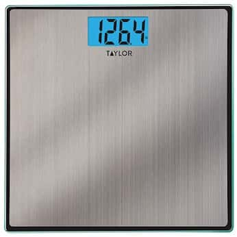 Taylor 74074102 Glass And Stainless Steel High Capacity Bath Scale 400 Lbs From Cole Parmer