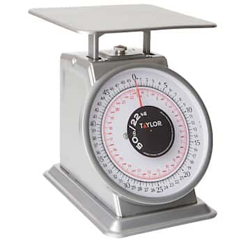Taylor THD50 Heavy Duty Mechanical SS Food Scale, 50lb And 22kg From  Cole Parmer