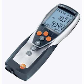 Testo 400563 4356 Multifunction Air Measurement Meter with ...
