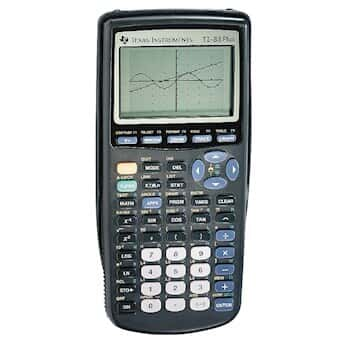 Texas Instruments TI-83+ Graphing Calculator with Advanced Statistics
