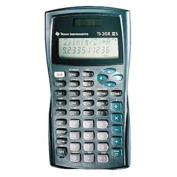 texas instruments ti 30x2s two line scientific calculator from
