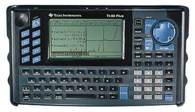 Texas Instruments TI-92+ Deluxe Graphing Calculator from