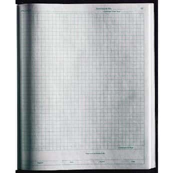 thermo scientific nalgene 6300 1000 1 4 quot  grid polypaper lab notebook  1 pk from cole parmer Thermo Fisher Scientific  Thermo Scientific Coloring Book