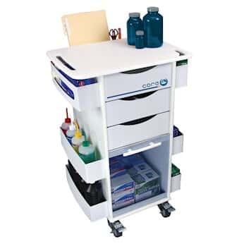Exceptionnel TrippNT 51007BLUE 51007, Rolling Organizer Cart, Blue