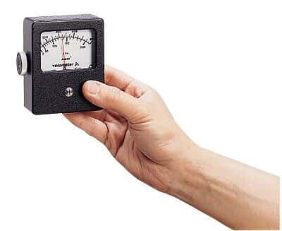 TSI 8100 8 Velometer Jr Intrinsically Safe Air Velocity Meter 800 Ft Min