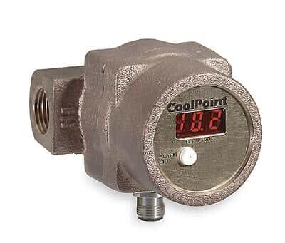 UFM CP-2 Flowmeter, Vortex, Heavy-Duty Brass, 2