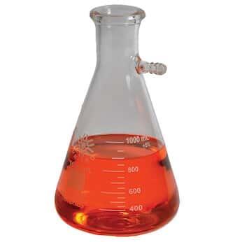 United Scientific Supplies Filtering Flask, Borosilicate Glass