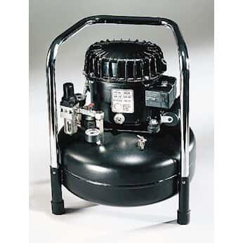 Werther P50 Tc 220v Ultra Quiet Oil Lubricated Air Compressor 2 1 Cfm 0 93 Gal Tank