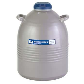 quality design 6cb7d 4b4dd Worthington 35LDB Liquid Nitrogen Storage Dewar  35 L, 152 Day Static Hold  from Cole-Parmer India
