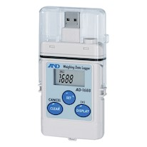 A&D Weighing AD-1688 Datalogger Stores Approx 5000 Readings and Uploads to Excel Spreadsheet