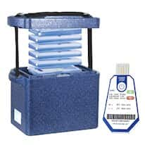 Cole-Parmer PolarSafe® 10L Box, TraceableOne™ Transport Bundle