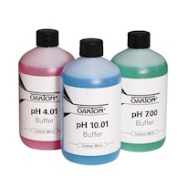 Oakton pH Buffer Pack; 500-mL bottle each of 4.01, 7.00, and 10.00 NIST-traceable buffer