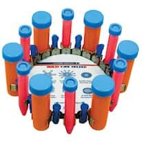 Scientific Industries Vortex-Genie SI-V525 Vertical 15 mL, 50 mL, Microtube Holder, Holds 24 Tubes.
