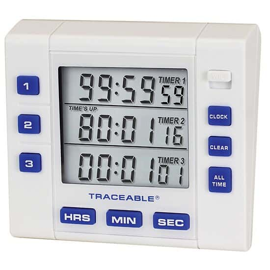 Traceable Timers
