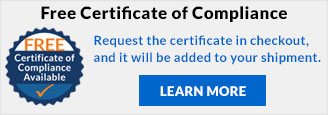 Free Certificate of Comliance
