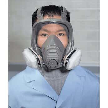 3m full face mask respirator 6000