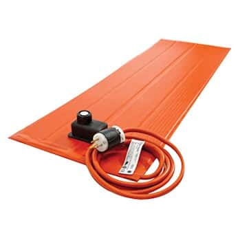Silicone Rubber Heater Blankets Metal Surfaces With