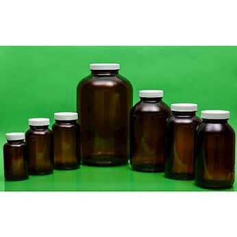 cole parmer precleaned epa amber wide mouth glass bottles from cole parmer. Black Bedroom Furniture Sets. Home Design Ideas