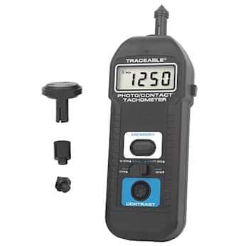 Digi-Sense™ Traceable® Contact/Noncontact Tachometer with Calibration