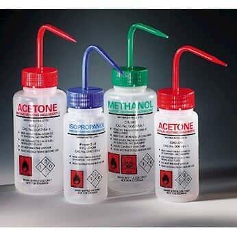 Azlon Ldpe Solvent Venting Wash Bottles 500 Ml 3836 From