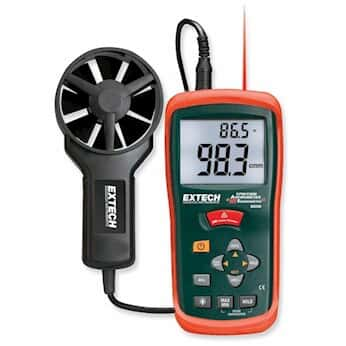 Extech EasyView CFM/CMM Vane Thermoanemometers from Cole-Parmer India