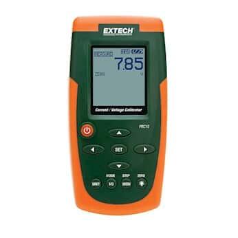 Extech PRC10 and PRC15 Precision Current and Precision Current/Voltage  Calibrators