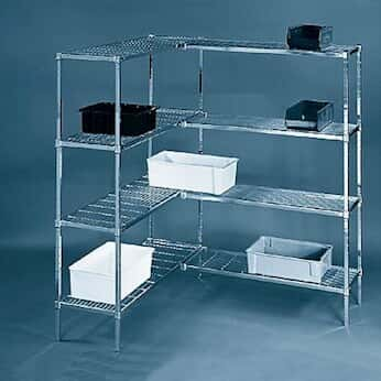heavy duty adjustable five shelf wire shelving units - Wire Shelving Units
