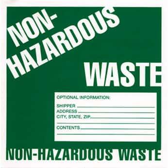 hazardous waste labels - Hazardous Waste Labels