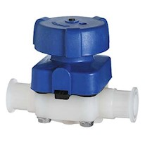 High-purity Plastic Diaphram Valves, PP/EPDM wetted materials